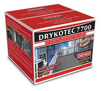Impermeabilizante 18kg Drykotec 7700 Argamassa Polimérica