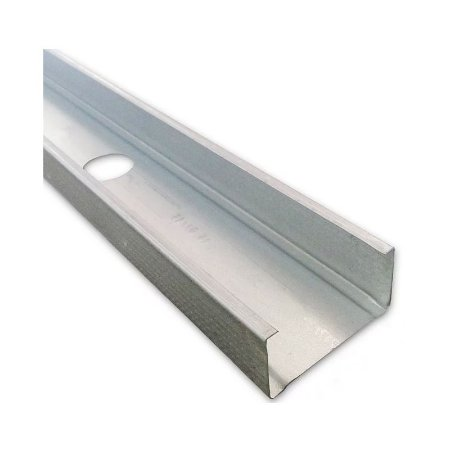 Perfil montante C para Drywall 90mm barra 3m