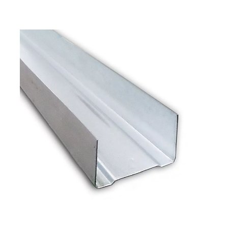 Perfil Guia U para Drywall 90mm Barra 3m
