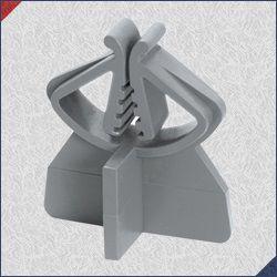 Espaçador PVC SL15 (Aço 4,2 até 16mm) Pacote com 1000 Un.