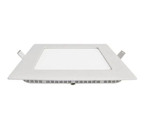 Plafon Led Quadrado Embutir AM 18W 3000K Luminatti