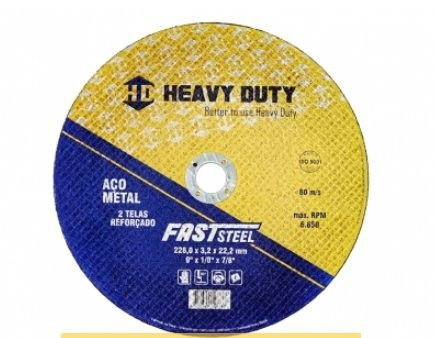 Disco Corte Ferro 41/2x 1/8x 7/8 Heavy Duty