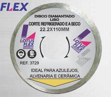 Disco Diamantado Liso 110mm Lotus