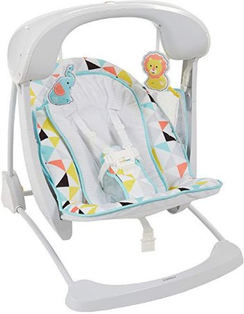 Cadeira de Balanço Take-along Swing and Seat Fisher-Price
