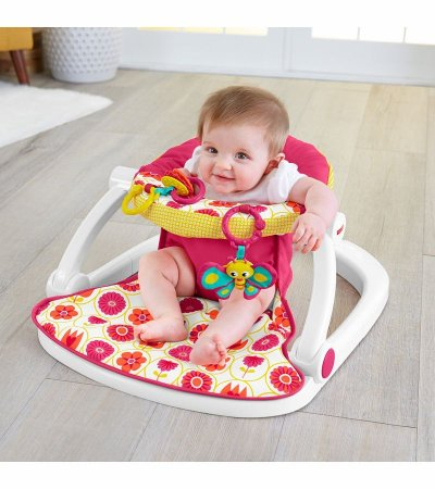 Assento Sit-me-up Florzinha Fisher-Price