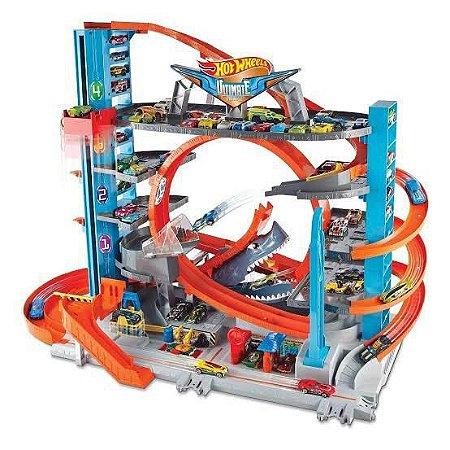 Pista Hot Wheels Ultimate Mega Garage
