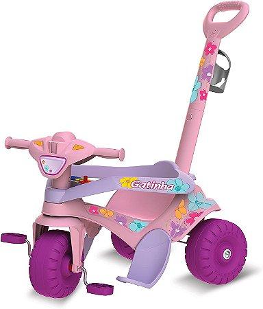 Triciclo Motoka Passeio e Pedal Gat. Bandeirante