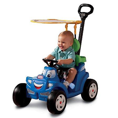 Carro Deluxe 2 Em 1 Azul Cozy Roadster Little Tikes