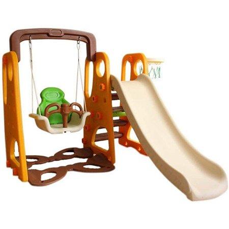 Playground 3 em 1 Marrom