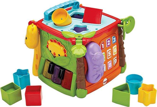 Cubo de Atividades - Primeira Infância - Learn And Laugh  Fisher-Price