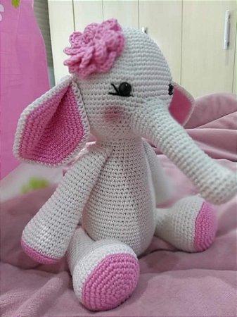 Elefante amigurumi parte1 Tutorial crochet - YouTube | 450x337