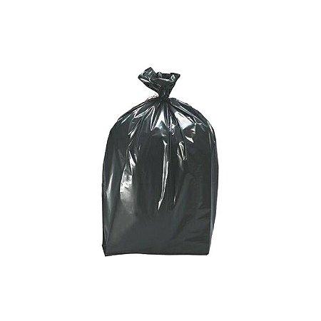 Saco plastico p/lixo 60l 53X70cm c/100unid preto - Nobreplast 05