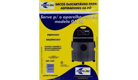 Saco aspirador lavor wash GN-22 GN-32 GNP-32 - 3 und (REF.1269)