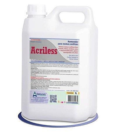 ACRILESS Removedor de Resinas Acrilicas 5L Quimiart