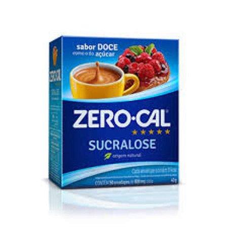 Adocante po zero cal sucralose 50x0,8g