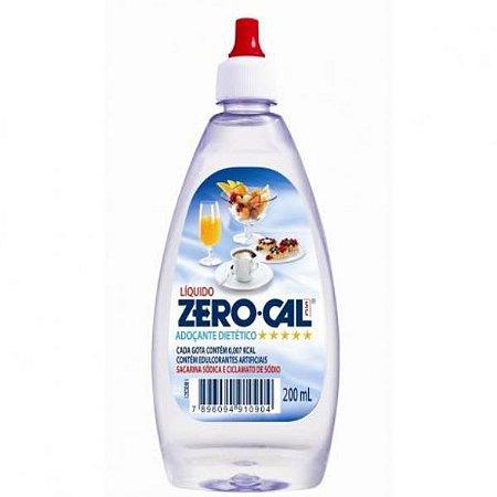 Adocante zero cal 200ml