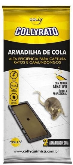 Armadilha Adesisa Colly Camundongo c/2