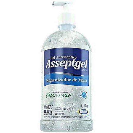 Alcool gel ASSEPTGEL CRISTAL 1,0KG