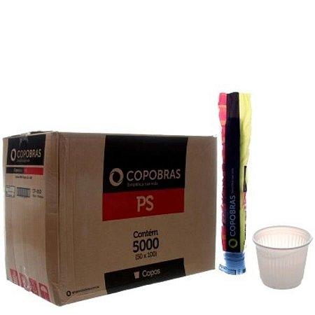 Caixa Copo 50ml brc PS c/ 5000 Copobras