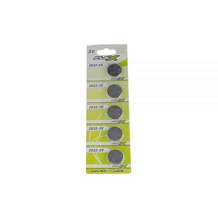 Bateria 3v FX-CR2032 FLEX - 1un