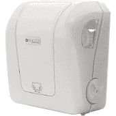 Dispenser papel toalha interfolha brco/trans Exaccta