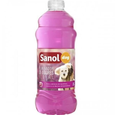 Eliminador de odores Sanol dog Floral 2L