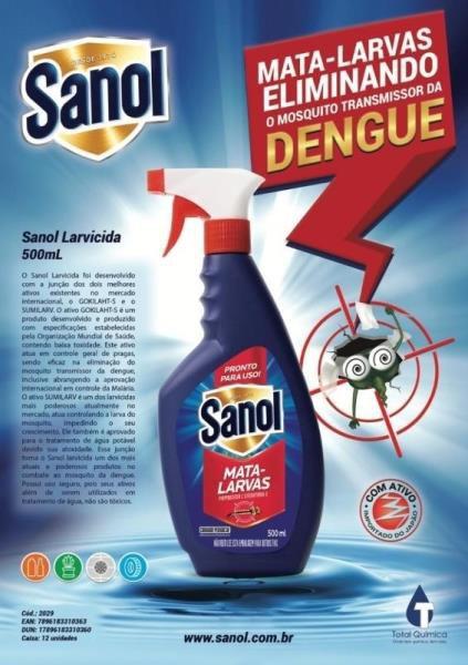 Larvicida Sanol 500ml