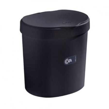 Lixeira preta 2,5L Coza