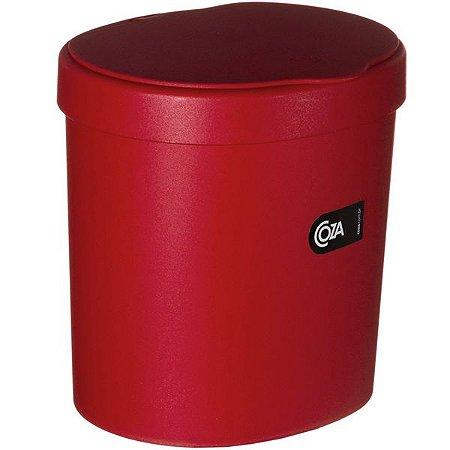 Lixeira vermelha 2,5L Coza