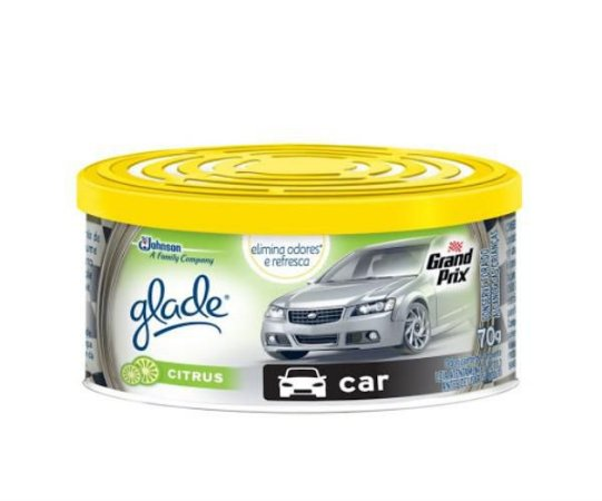 GLADE GEL CARRO CITRUS 70g