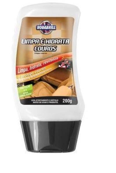 Limpa e hidrata couro Rodabrill 200g