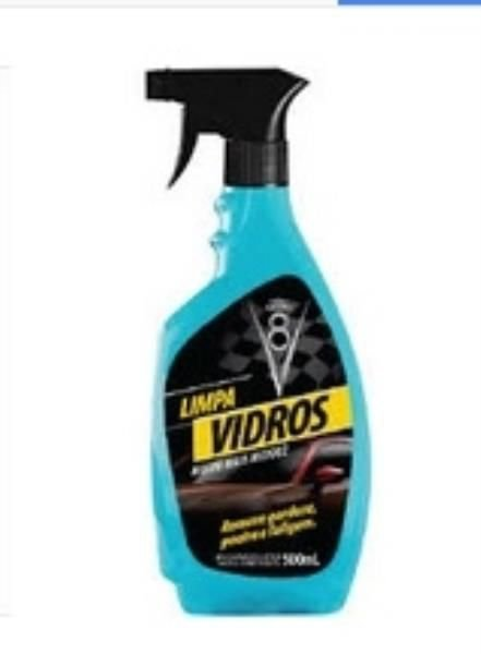 Limpa Vidros Spray V8 500ml
