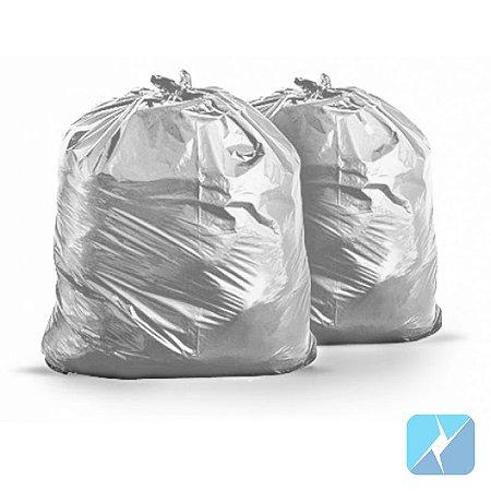 Pacote saco lixo cinza 100L 100 undd