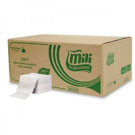 Papel higienico cai cai soft Mili 100% 10x20 10000fs