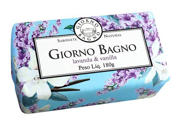 Sabonete barra Giorno Bagno lavanda vanilla 180g