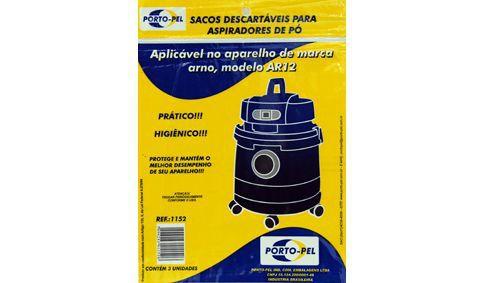 Saco aspirador arno agua e po ar12 - 3 und (REF.1152)