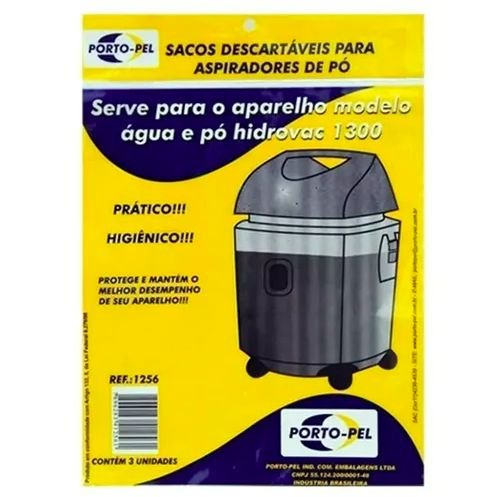 Saco aspirador electrolux hidrovac 1300 - 3 und (REF.1256)