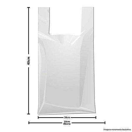 Sacola alta 30x40 c/1000 Altaplast