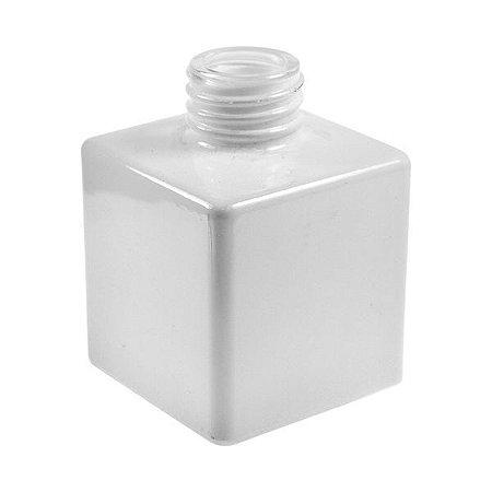 Vidro cube 100ml R28 Branco (s/ valvula)