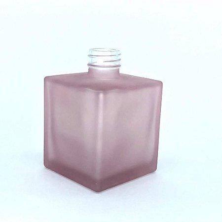 Vidro cube 250ml rosa quartz fosco (sem válvula)