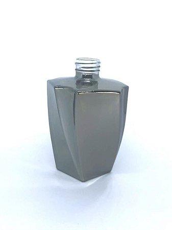 Vidro elegance 200ml reflex prata (sem válvula)