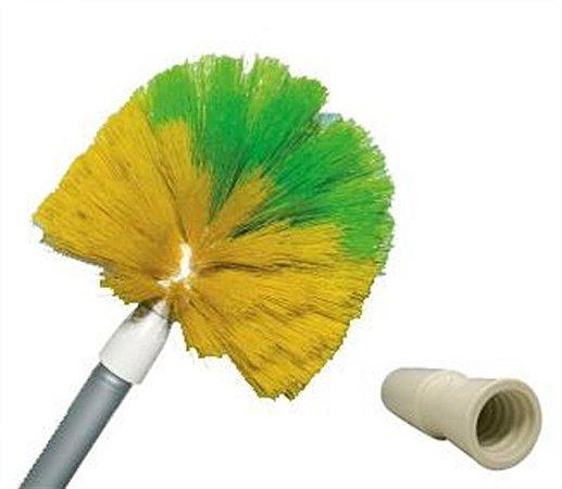 Vassoura para limpar teto Naylon- Cabeça de palhaco