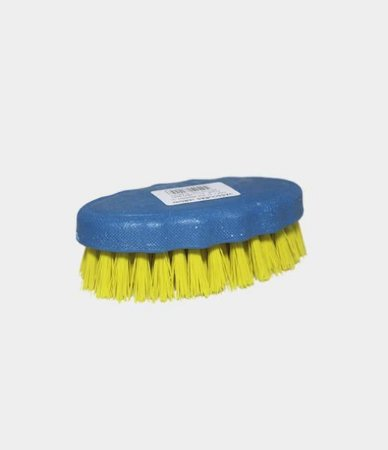 Escova De Limpeza Oval Plastico