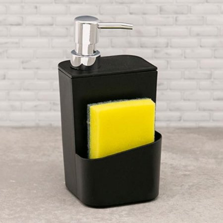 DISPENSER PARA DETERGENTE PRETO 650 ML