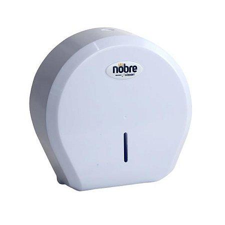 Dispenser papel hig rolao 300/500m (cinza/branco) NOBRE new classic