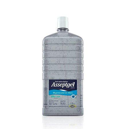 ALCOOL GEL ASSEPTGEL CRISTAL 1,7KG - REFIL S/ VALVULA