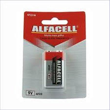 Bateria 9V Alfacell