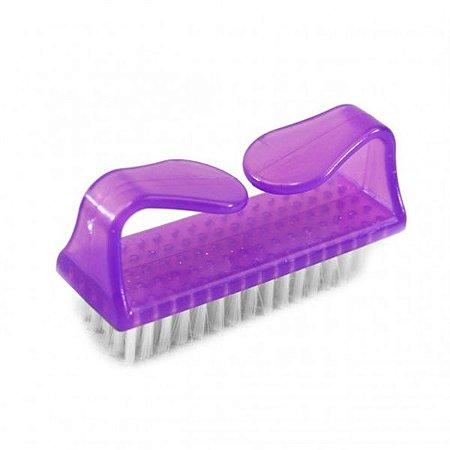 Escova De Unha De Plastico