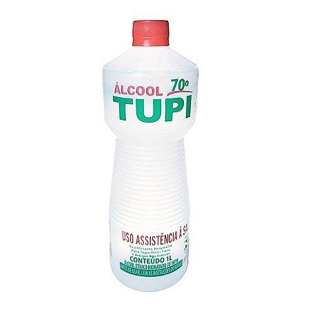 ALCOOL 70º DES.HOSP. TUPI LIQUIDO 1LT