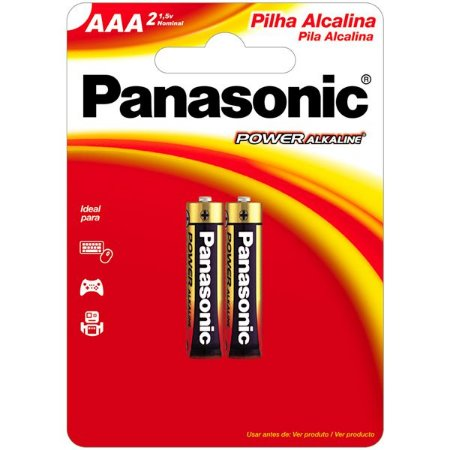 PILHA PANASONIC ALC PALITO AAA CART 2UN